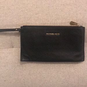 Michael Kors wristlet in black!